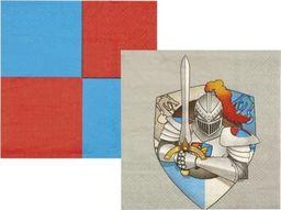Aster Serwetki rycerskie 25 x 25 cm uniw