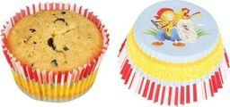 Goki Papierowe foremki na muffiny 50 szt - Peggy Diggledey uniw