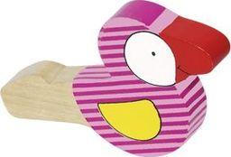 Goki Drewniany gwizdek dla dzieci - ptaszek uniw
