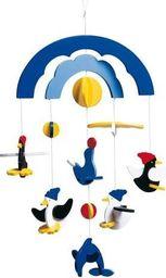 Goki Karuzela do łóżeczka Pływające Pingwiny dla dzieci uniw