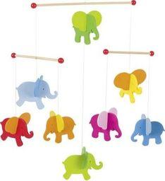 Goki Karuzela słoniki - ozdoba do pokoju dziecka uniw