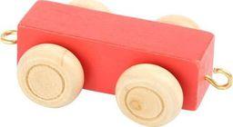 Small Foot Wagonik drewniany do pociągu LITERKA uniw
