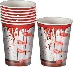 Aster Kubeczki z krwią na Halloween - 8 szt uniw