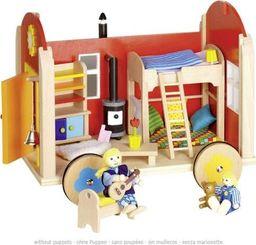 Goki Przyczepa mieszkalna dla lalek, mebelki dla lalek