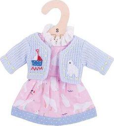 BigJigs Sukienka dla lalki 25 cm z misiem polarnym  uniw