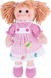 BigJigs Lalka szmacianka do zabawy dla dzieci Ava