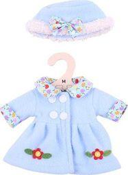 BigJigs Ubranko dla lalki 30 cm Niebieski płaszczyk i czapka  uniw