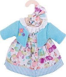 BigJigs Sukienka dla lalki 30 cm Turkusowy sweterek i sukienka  uniw