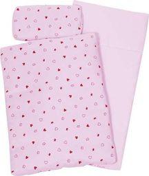 Goki Pościel dla lalek -  różowa kołderka uniw