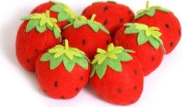 Small Foot Filcowe truskawki dla dzieci