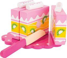 Small Foot Drewniane ciasto do zabawy dla dzieci - 5 elementów uniw