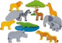 Goki Drewniane zwierzęta afrykańskie uniw