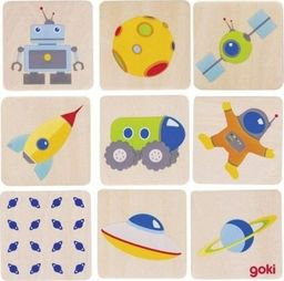 Goki Metoda Montessori Gra pamięciowa Kosmos - zabawki dla dzieci uniw