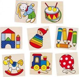 Goki Gra pamięciowa Zabawki - zabawki dla dzieci, zabawki Montessori uniw