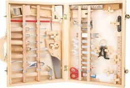 Small Foot Narzędzia  do zabawy dla dzieci  - Deluxe, 48 narzędzi, walizka z narzędziami  uniw