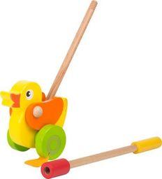 Small Foot Zabawka do pchania dla dzieci - kaczuszka Zielononóżka uniw