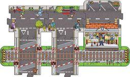 BigJigs Wielka droga wielka jezdnia ulica do zabawy Stacja uniw