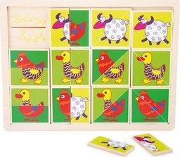 Small Foot Układanka - dopasuj zwierzęta zabawka dla dzieci pomoce montessori uniw