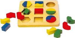 Small Foot Drewniana układanka dla dzieci - figury geometryczne uniw