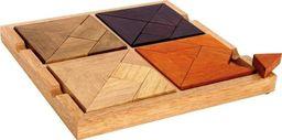 Small Foot Puzzle , mozaika , tangram 4 w 1 - zabawki dla dzieci, zabawka montessori  uniw