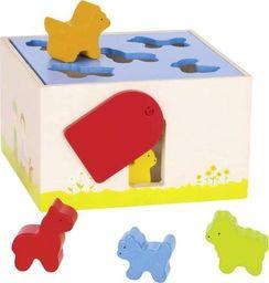 Goki Sorter do zabawy  dla dzieci - Dom dla zwierząt uniw