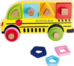 Small Foot Autobus szkolny - układanka kreatywna dla dzieci uniw