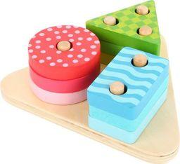 Small Foot Sorter drewniany dla dzieci - Figury geometryczne , zabawka montessori  uniw