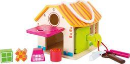 Small Foot Domek z zamkami - zabawa zręcznościowa dla dzieci uniw