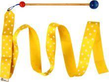 Akson Akson - Wstążka gimnastyczna junior 1,5 m - żółta uniw