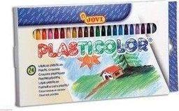 Akson Kredki świecowe JOVI Plasticolor 24 kolory uniw