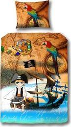 Vipack Bawełniana pościel do łóżka Piraci uniw