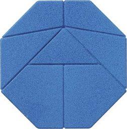 Goki Kamienne klocki dla dzieci - Niebieski ośmiokąt uniw