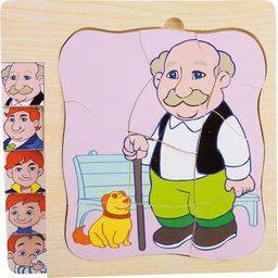 Small Foot Puzzle Dziadek - Kreatywna układanka dla dzieci