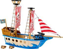 Small Foot Statek piracki Jack - zabawka drewniana dla dzieci uniw