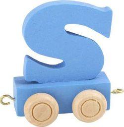 Small Foot Wagonik z literką S - element z układanki ALFABET POCIĄG uniw