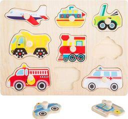 Small Foot Puzzle Transport  - Kreatywna układanka dla dzieci uniw