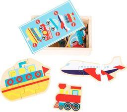 Small Foot Pojazdy - puzzle w pudełku dla dzieci uniw
