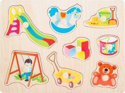 Small Foot Puzzle z uchwytami - Zabawki uniw