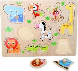 Small Foot Puzzle Zwierzęta z zoo - zabawka dla dzieci uniw
