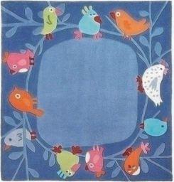 Haba Dywan Małe Ptaki 140x140 cm uniw