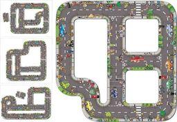 BigJigs Puzzle Ogromna Jezdnia Ulica Droga do zabawy dla dzieci