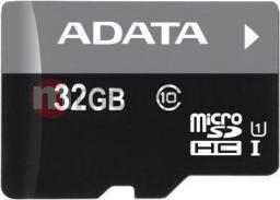Karta ADATA Premier MicroSDHC 32 GB Class 10 UHS-I/U1  (AUSDH32GUICL10RA1)