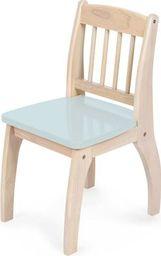 BigJigs Drewniane krzesło dla dzieci  - Blue uniw