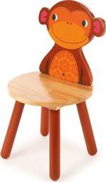 BigJigs Drewniane krzesło dla dzieci Małpka  uniw