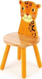 BigJigs Drewniane krzesło dla dzieci Tygrysek uniw