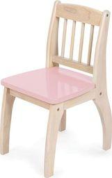 BigJigs Drewniane krzesło dla dzieci  - Pink uniw