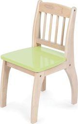 BigJigs Drewniane krzesło dla dzieci - Green uniw