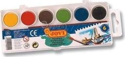 Akson Akwarele dla dzieci JOVI 6 kolorów uniw