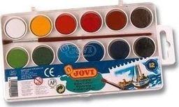 Akson Akwarele  dla dzieci JOVI 12 kolorów uniw
