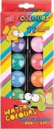 Akson Akwarele dla dzieci Easy 12 kolorów uniw